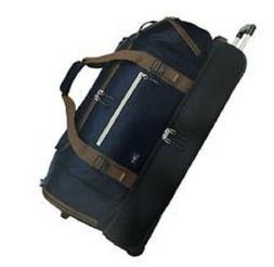 The Skyway Luggage Globe Trekker 2 Compartment Rolling Duffe