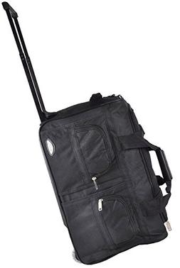 American Hipack Deluxe 22-inch Carry-On Rolling Duffle Bag -
