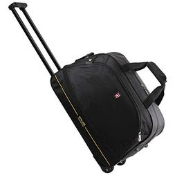 carry on with wheels rolling duffle bag