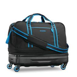 American Tourister Hybrid Rolling Duffel Rugged Molded ABS P
