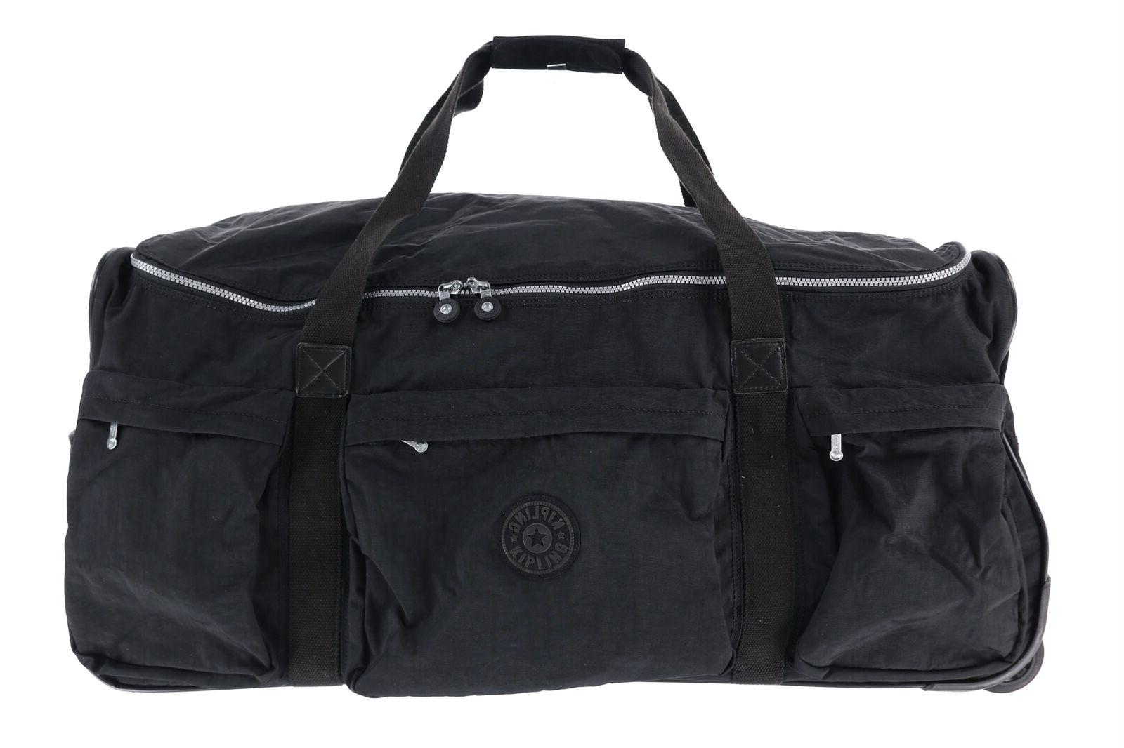 163430 discover 30 rolling black duffle bag