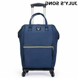 Luggage Bag Wheel Carry-On Bags Duffle Trolley Rolling Suitc