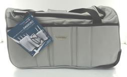 """New Travel Select Crossing 21"""" Rolling Duffle - Silver"""
