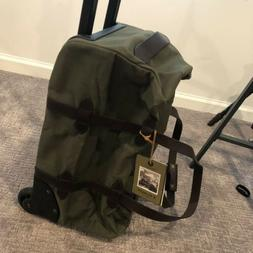 """New Filson Rolling Duffle 20"""" Carry On Suitecase Durable H"""