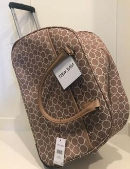 NWT Nine West Allea collection Rolling Carry-On Duffel