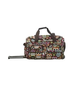 Rockland Luggage Rio 2 Piece Carry On Luggage Set - OWL