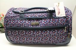 Jessica Simpson Rolling Duffel Bag Freedom Red White and Blu