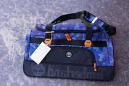 """Timberland Webster Lake Camo Blue Travel Luggage 26"""" Rolling"""