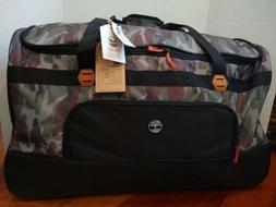 """Timberland Webster Lake Camo Travel Luggage 30"""" Rolling Whee"""